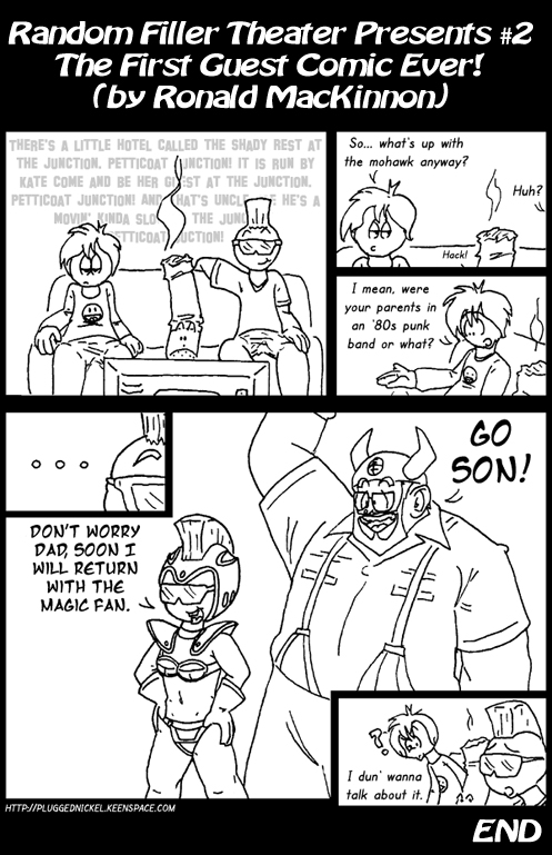 2 – The First Guest Comic Ever